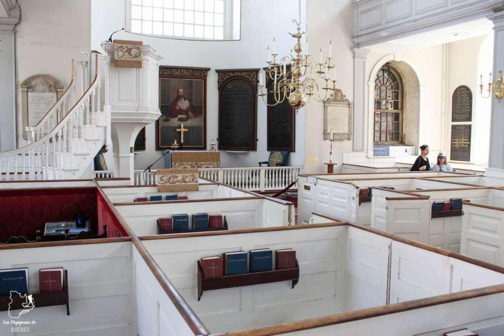 Old North Church Boston en Nouvelle-Angleterre dans notre article Visiter la Nouvelle-Angleterre aux USA : Que voir lors d'un road trip de 3 jours #road trip #nouvelleangleterre #usa #etatsunis #itineraire