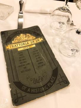 Trattoria Za Za, restaurant de Florence dans notre article Visiter Florence en 5 jours : Que voir en 10 incontournables de Florence en Italie #florence #italie #europe #toscane #voyage