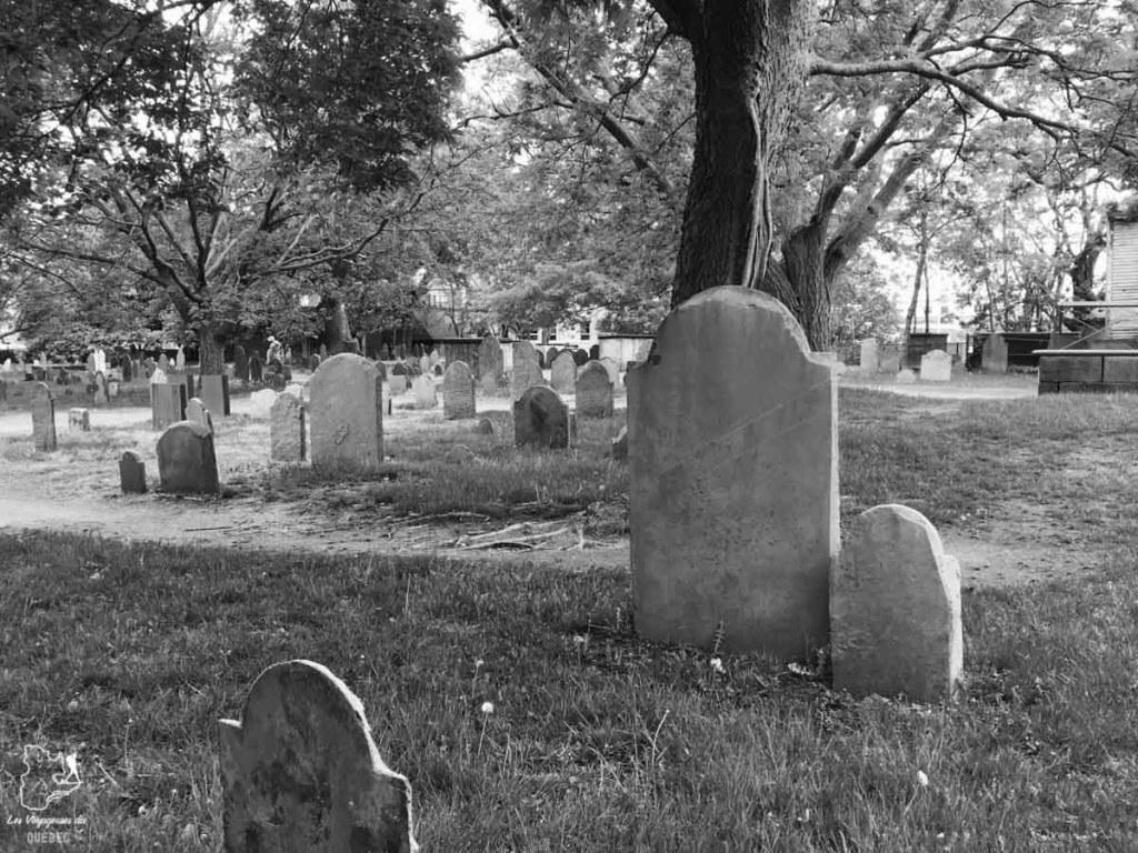Cimetière Old Burying Point à Salem en Nouvelle-Angleterre dans notre article Visiter la Nouvelle-Angleterre aux USA : Que voir lors d'un road trip de 3 jours #road trip #nouvelleangleterre #usa #etatsunis #itineraire