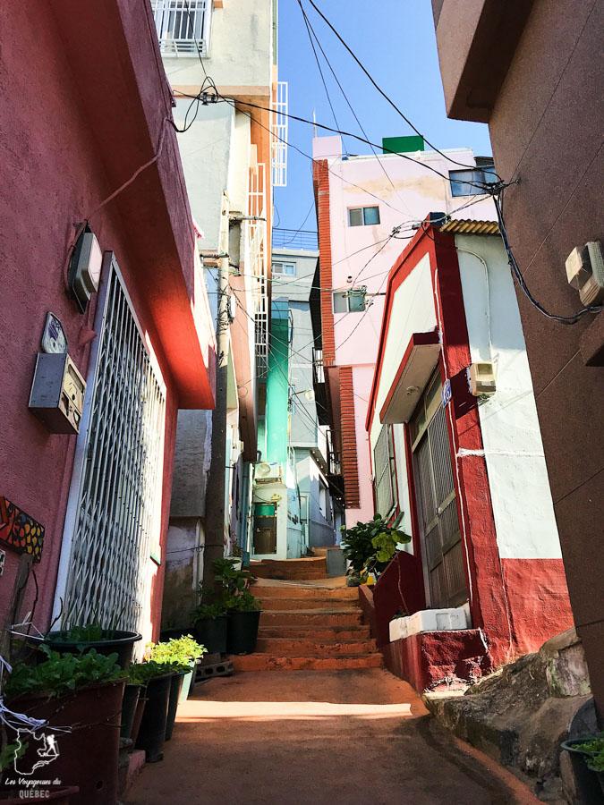Village de Gamcheon à Busan dans notre article Visiter Busan en Corée du Sud : Quoi faire à Busan en 7 incontournables #coreedusud #asie #voyage #busan