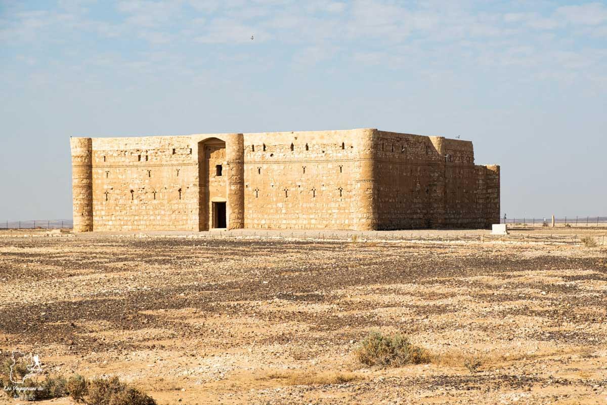 Le château Qasr Kharana dans le désert de Jordanie dans notre article Visiter la Jordanie: Mon itinéraire de 2 semaines en road trip en Jordanie #jordanie #road trip #voyage