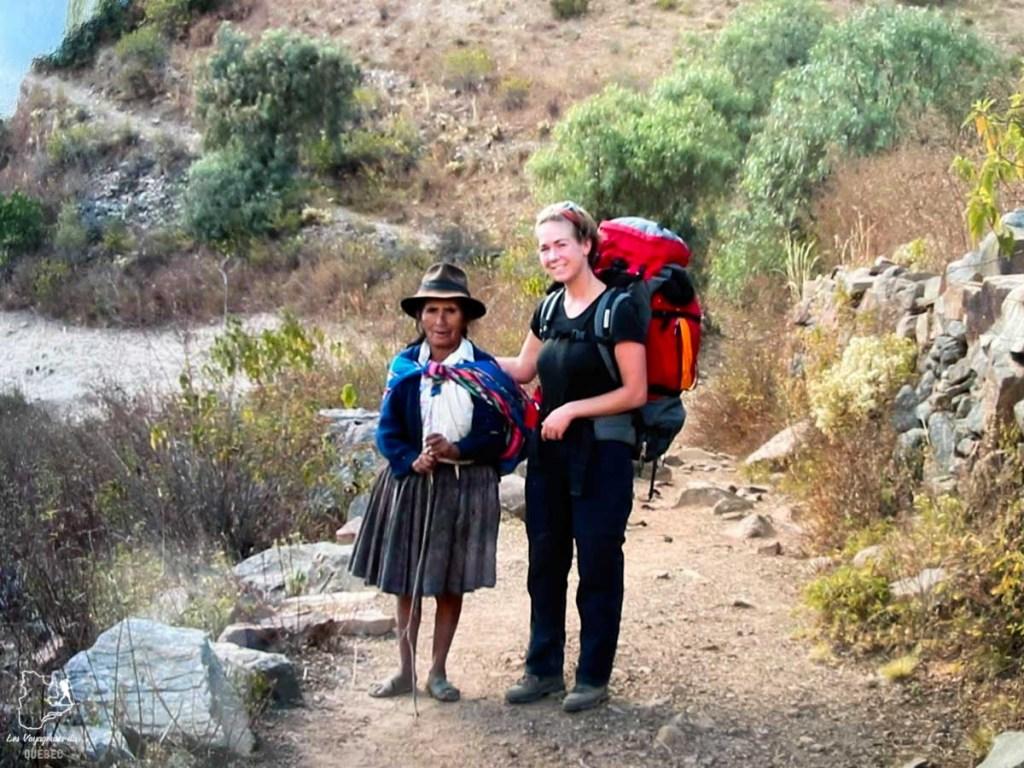 Rencontre lors d'une randonnée en Bolivie dans notre article 5 témoignages sur le BLUES après un voyage de randonnée en montagnes #randonnee #blues #retourdevoyage #trek #voyage