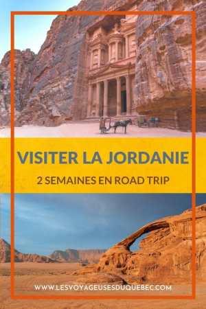 Visiter la Jordanie: Mon itinéraire de 2 semaines en road trip en Jordanie #jordanie #road trip #voyage