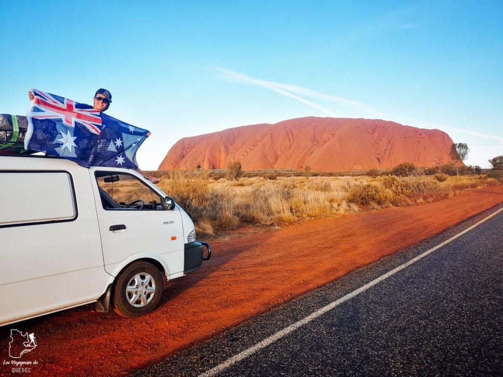 Visite de Urulu lors de mon road trip en van en Australie dans notre article Tout savoir pour préparer son road trip en van en Australie #australie #roadtrip #van #voyage