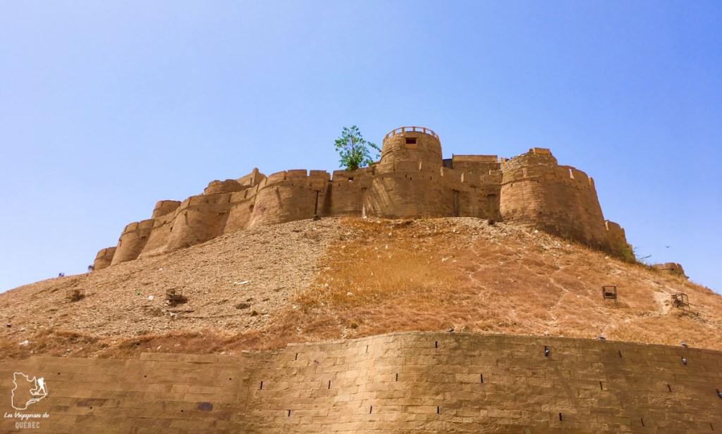Fort de Jaisalmer dans notre article Visiter le Rajasthan en Inde : Itinéraire et conseils pour un voyage dans cet État du Nord de l'Inde #rajasthan #inde #itineraire #voyage
