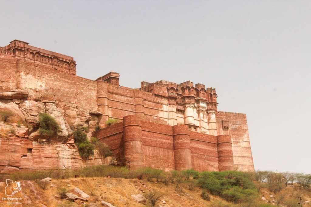 Mehrangarh Fort à Jodhpur dans notre article Visiter le Rajasthan en Inde : Itinéraire et conseils pour un voyage dans cet État du Nord de l'Inde #rajasthan #inde #itineraire #voyage