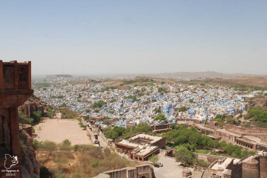 La ville bleue de Johdpur dans notre article Visiter le Rajasthan en Inde : Itinéraire et conseils pour un voyage dans cet État du Nord de l'Inde #rajasthan #inde #itineraire #voyage