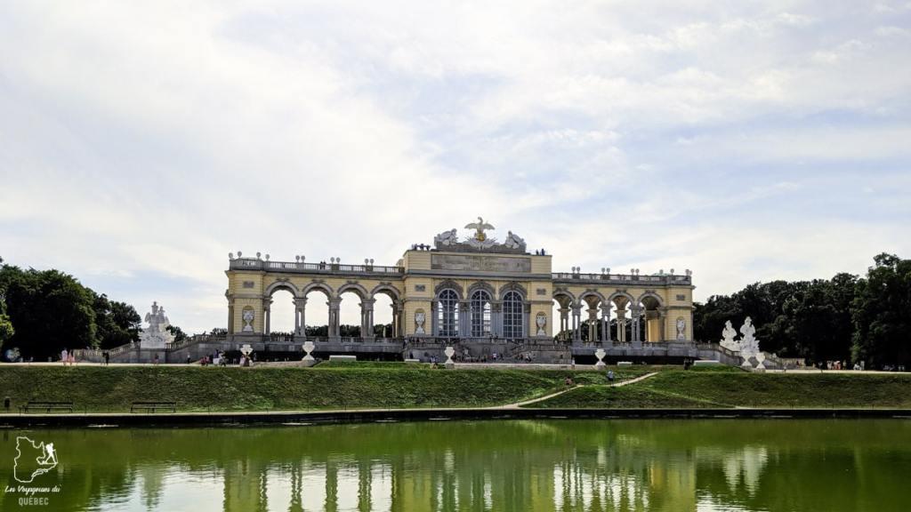 Gloriette du Château de Schönbrunn de Vienne dans notre article Visiter Vienne en Autriche : que voir et que faire à Vienne en 5 jours #vienne #autriche #europe #voyage