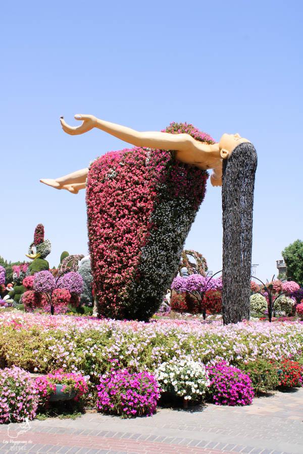 Visiter Miracle Garden à Dubaï dans notre article Visiter Dubaï avec un petit budget : Que faire à Dubaï et voir pour un séjour pas cher #dubai #emiratsarabesunis #asie #voyage