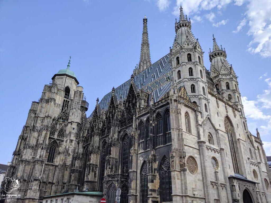 Cathédrale Saint-Étienne à Vienne dans notre article Visiter Vienne en Autriche : que voir et que faire à Vienne en 5 jours #vienne #autriche #europe #voyage