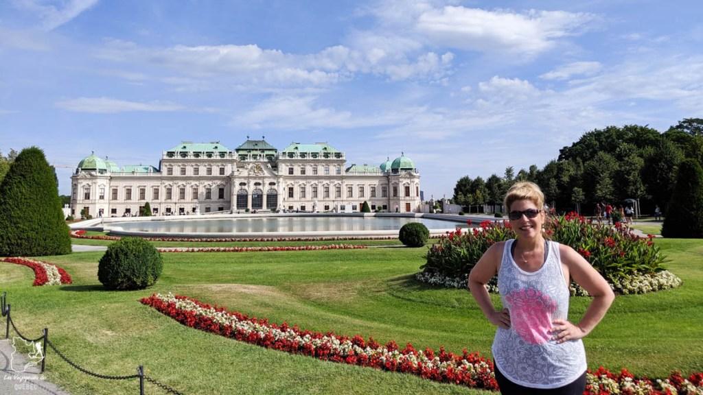 Palais du Belvédère à Vienne dans notre article Visiter Vienne en Autriche : que voir et que faire à Vienne en 5 jours #vienne #autriche #europe #voyage
