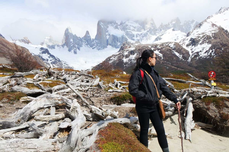 À El Chalten en Patagonie dans notre article Quitter une vie où il faut plaire à tout prix pour voyager et être enfin libre #voyage #voyageraufeminin #femme #inspiration