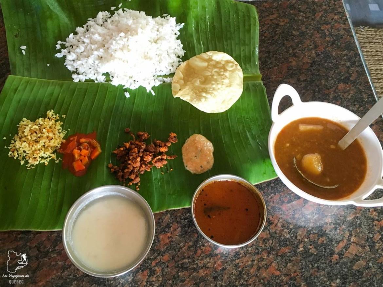Manger un thali en Inde dans notre article 10 conseils pour un voyage en Inde pas cher et à petit budget #inde #asie #voyage #petitbudget #conseilsvoyage