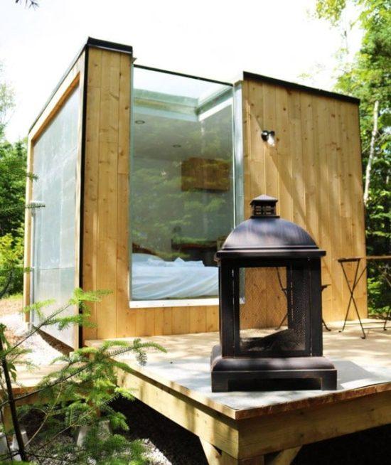 Location mini-chalet au Repère boréal à Charlevoix dans notre article 8 mini-maisons et mini-chalets au Québec à louer pour vos vacances #minimaison #minichalet #hebergement #quebec #vacances