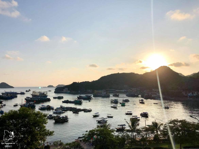 île de Cat Ba au Vietnam dans notre article Oser partir en voyage au bout du monde malgré des barrières #voyage #oservoyager