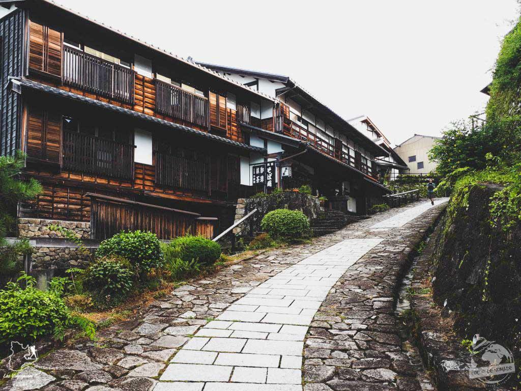 Magome sur la route des samouraïs dans notre article Alpes japonaises: road trip au Japon dans les montagnes de l'île de Honshū #japon #alpes #alpesjaponaises #roadtrip #asie #voyage #honshu