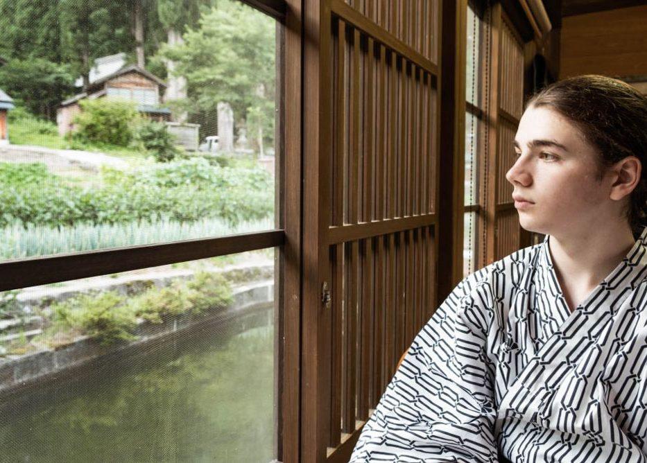 Notre minshuku au village Gasshô Ainokura dans notre article Alpes japonaises: road trip au Japon dans les montagnes de l'île de Honshū #japon #alpes #alpesjaponaises #roadtrip #asie #voyage #honshu