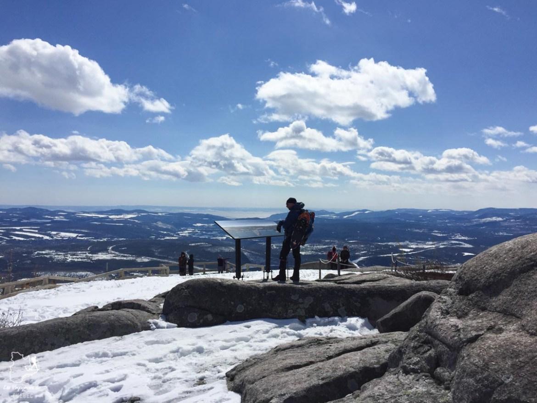 Mont du Lac des Cygnes dans le Parc des Grands-Jardins notre article Visiter Charlevoix au Québec: Quoi faire dans Charlevoix entre fleuve et montagnes #charlevoix #quebec #voyage #canada