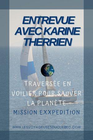 Elle participe à Mission eXXpedition : projet écologique en mer totalement féminin #exxpedition #ecologie #environnement #voilier #femme #voyage