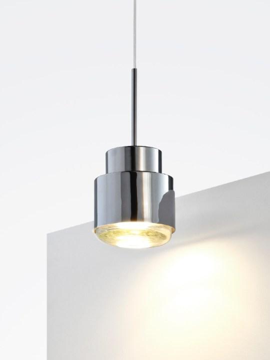 Cupallo chrome metal pendant lamp
