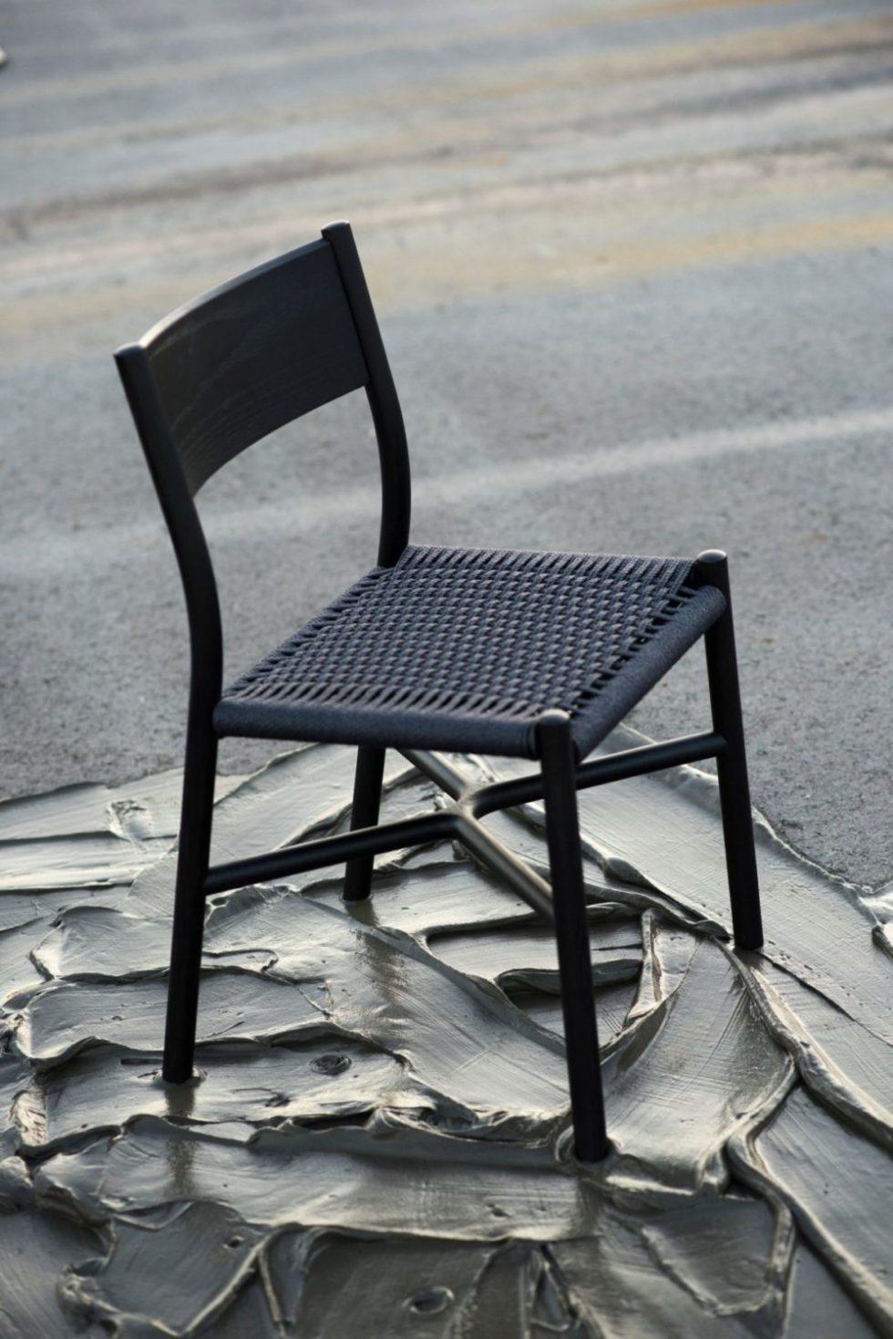 sumi papercord ariake chair