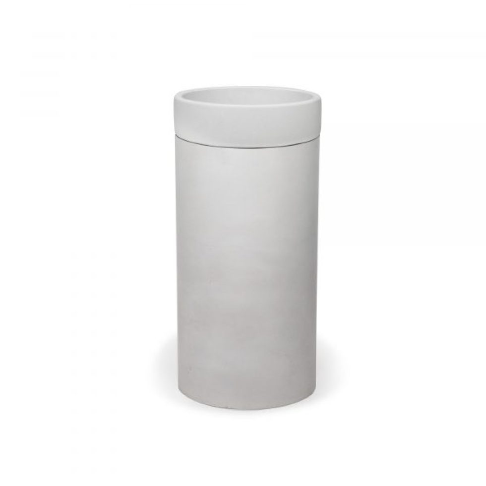 Cylinder Bowl Basin(Surface Mount) by Nood