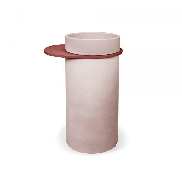 cylinder bowl basin