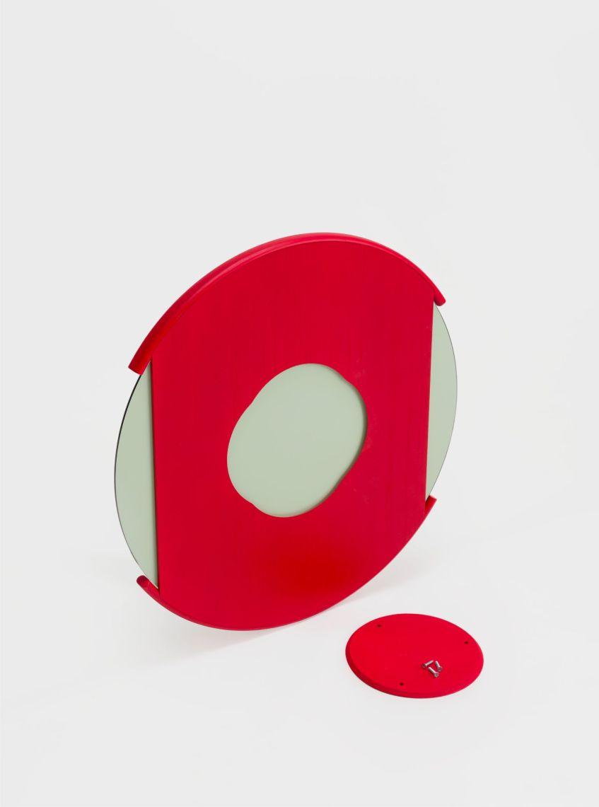 split mirror large red ariake