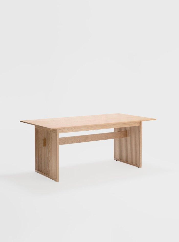 lattice table oak ariake