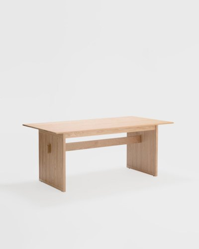 lattice table oak ariake