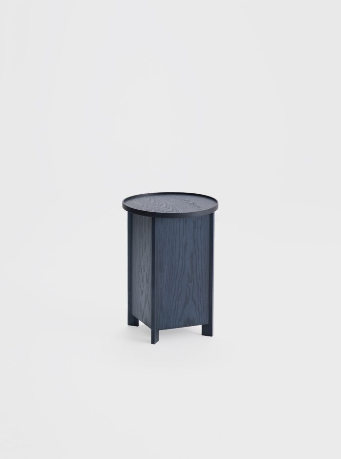sake side table indigo