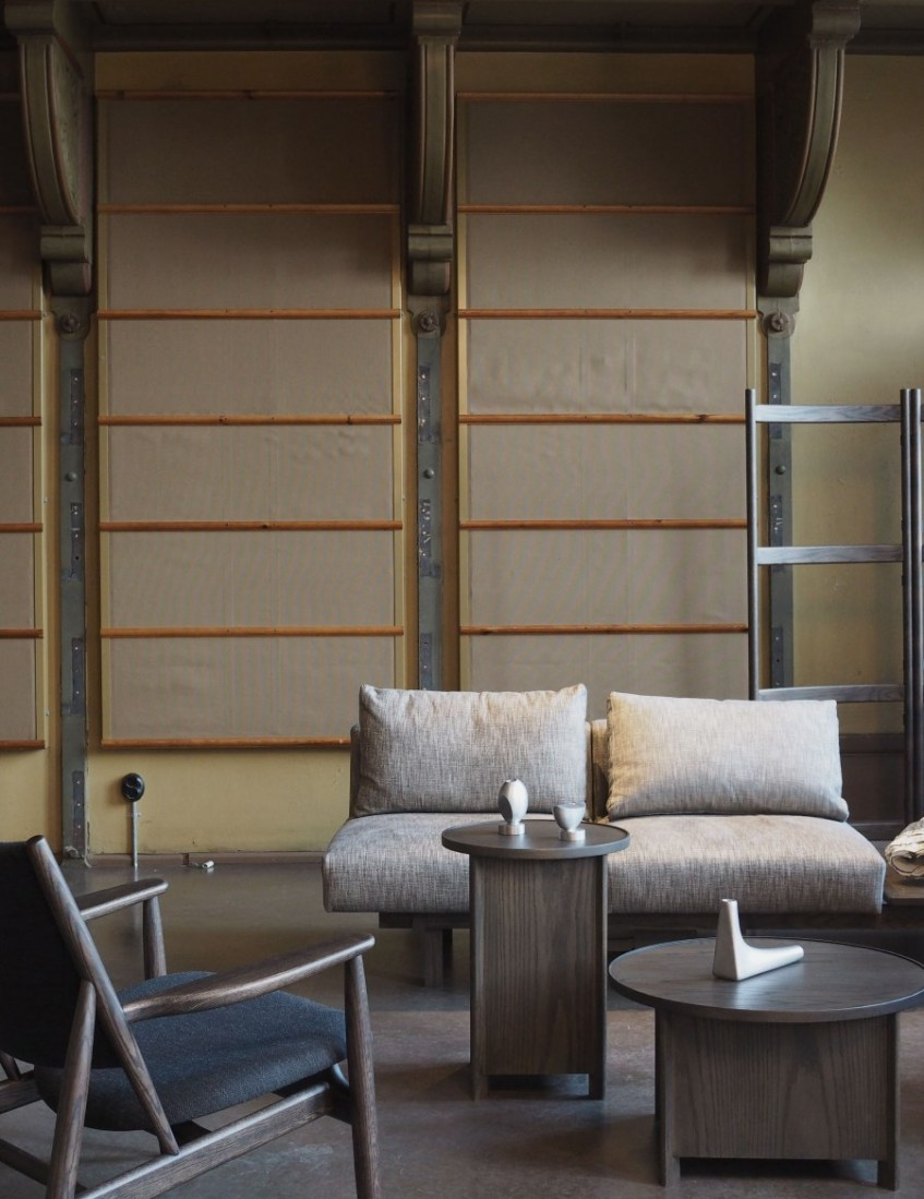 sake coffee side table note design ariake