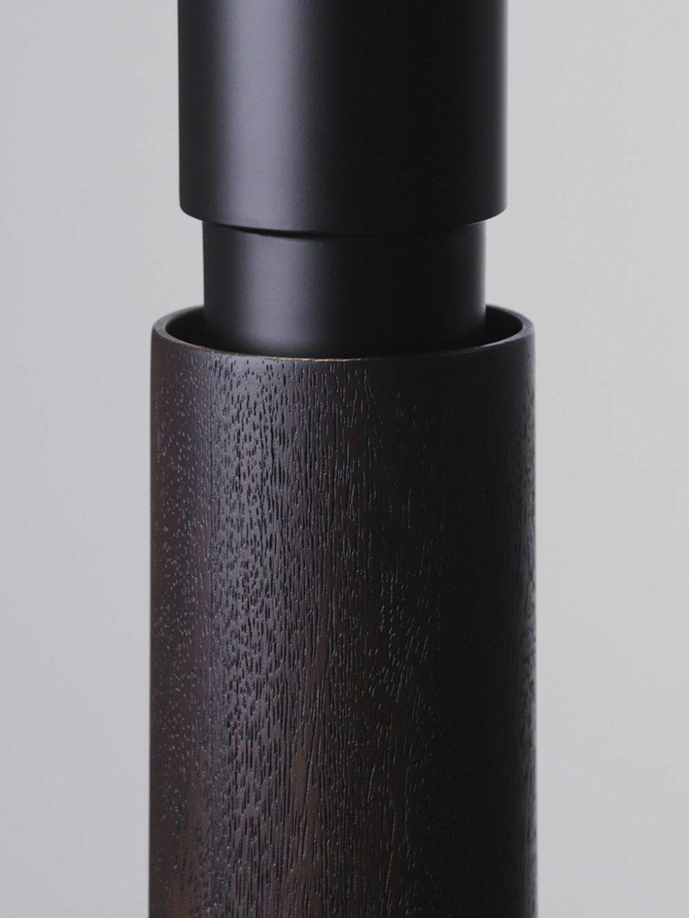 amelia black pendant