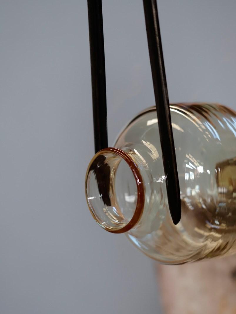 handblown glass materials