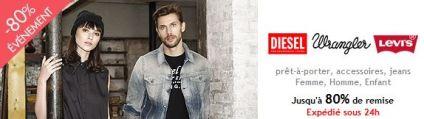 Brandalley: jeans Levi's, Diesel, Wrangler