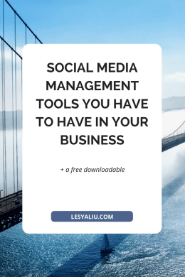 25 Social Media Management Tools You Have to Have in Your Business