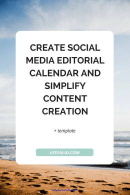 Create Social Media Editorial Calendar And Simplify Content Creation - Content creation template