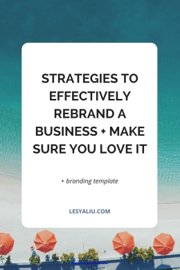 Strategies to Effectively Rebrand a Business