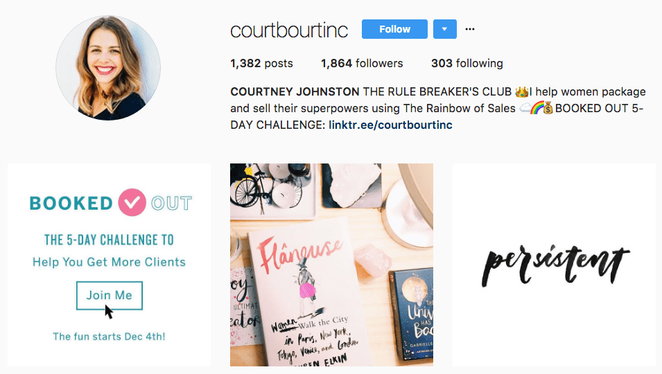 grow email list on Instagram