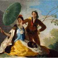 """L'ombrelle"" de Francisco de Goya"