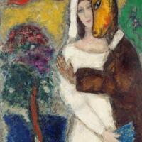 """""""Songe d'une nuit d'été"""" de Marc Chagall"""