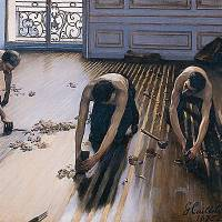 """""""Les raboteurs de parquet"""" de Gustave Caillebotte"""