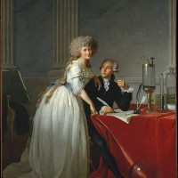 """Portrait d'Antoine Lavoisier et sa femme"" de Jacques-Louis David"