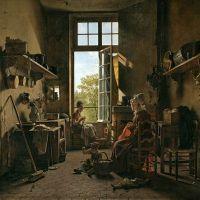 """""""Intérieur d'une cuisine"""" de Martin Drölling"""