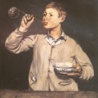 """""""Les bulles de savon"""" d'Edouard Manet"""