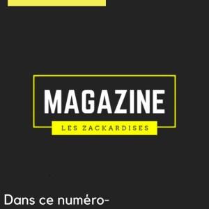 Magazine #1 - Les Zackardises