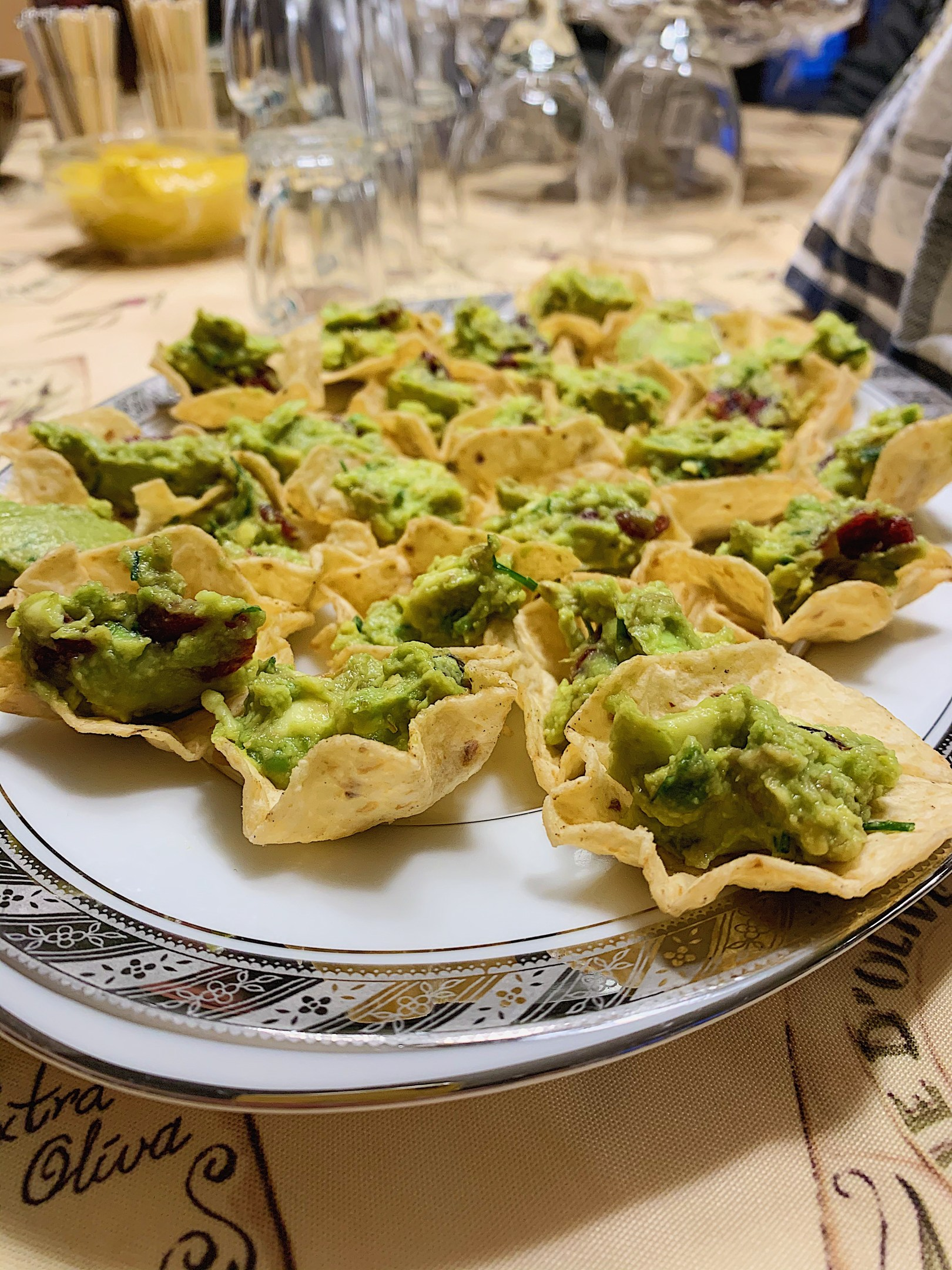 Guacamole à l'avocat et à l'orange