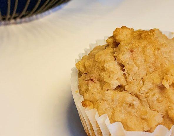 Muffins aux fraises