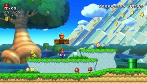 Monde 1 Mario U Deluxe