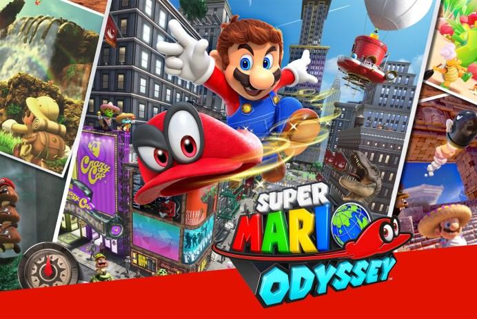 Découvrez Super Mario Odyssey sur Nintendo Switch!